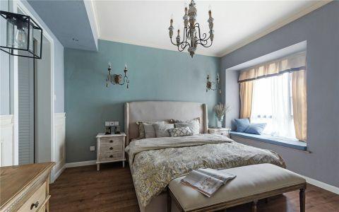 卧室飘窗现代欧式风格装修设计图片