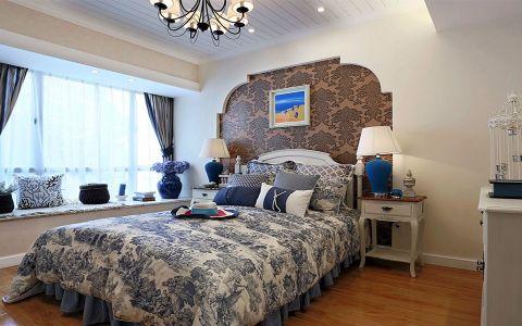 卧室飘窗地中海风格装修图片