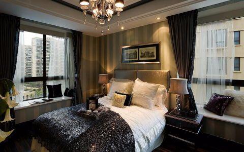 卧室飘窗古典风格效果图