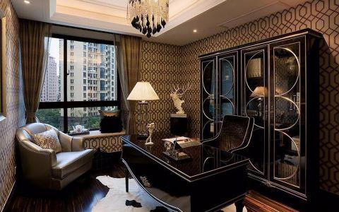 古典风格130平米三室两厅新房装修效果图