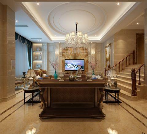 餐厅楼梯欧式风格装饰设计图片