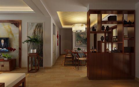 餐厅隔断新中式风格装饰图片