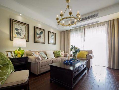 美式風格140平米三室兩廳新房裝修過夏天