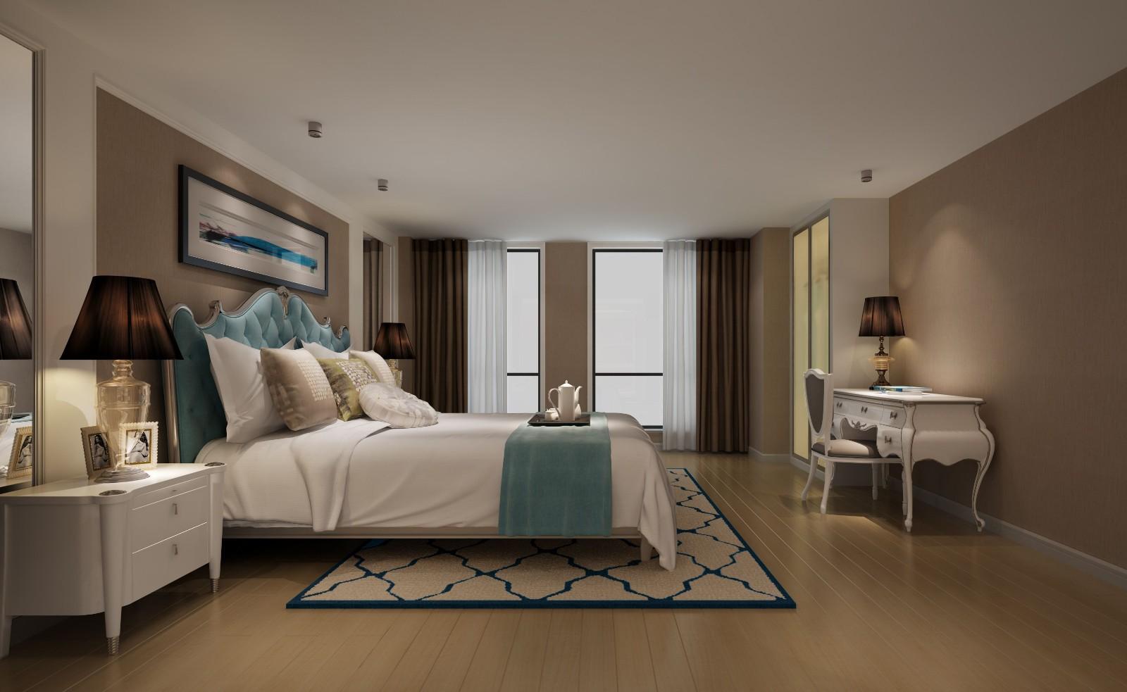 2室1卫1厅57平米欧式风格