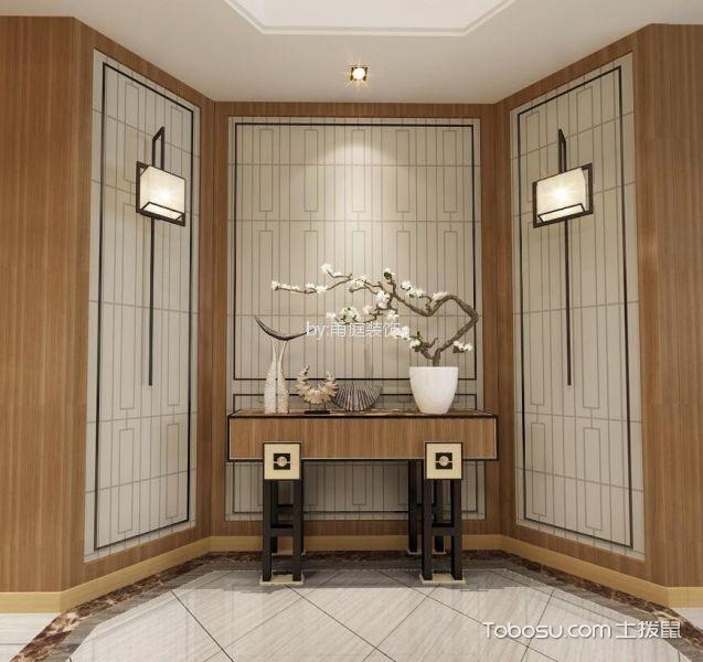 宁波江湾城117平米现代风格效果图