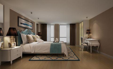 欧式风格60平米复式室内装修效果图