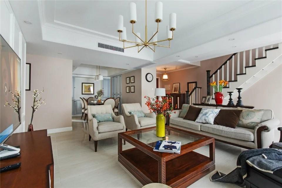3室2卫2厅129平米美式风格
