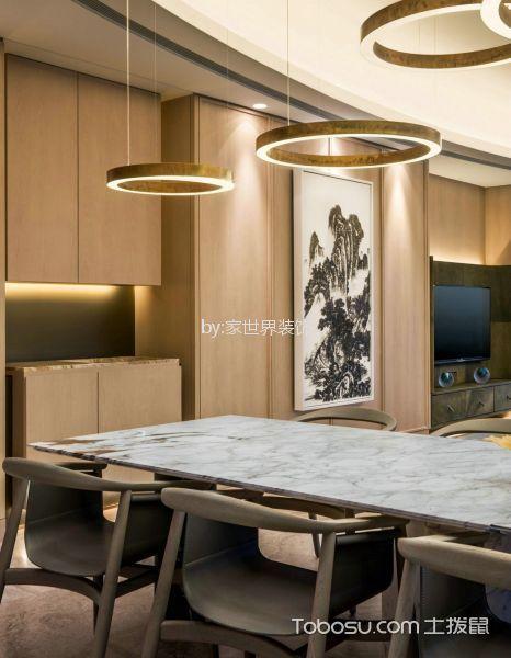 青岛海尔地产首府新古典主义139平米新古典风格效果图