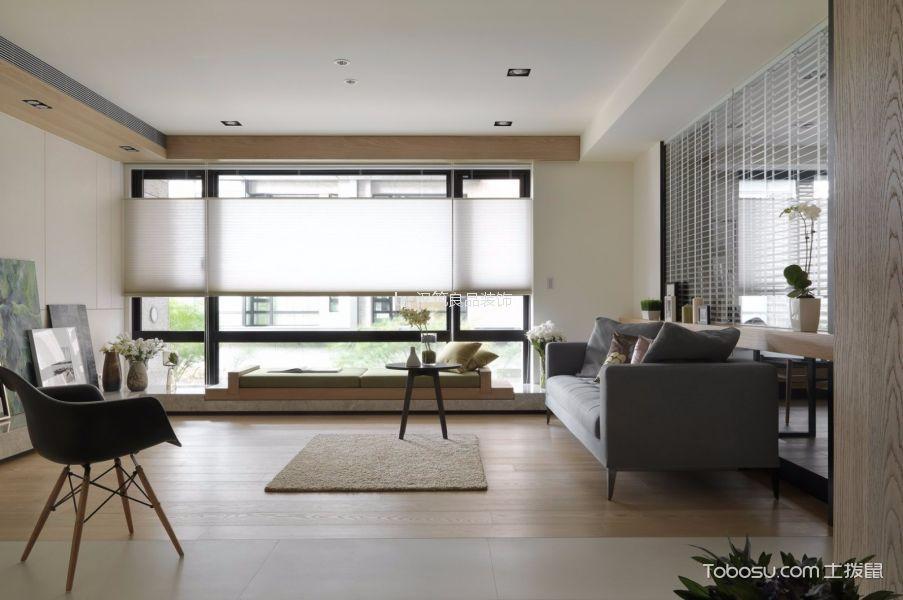明州混搭风格三居室装修效果图