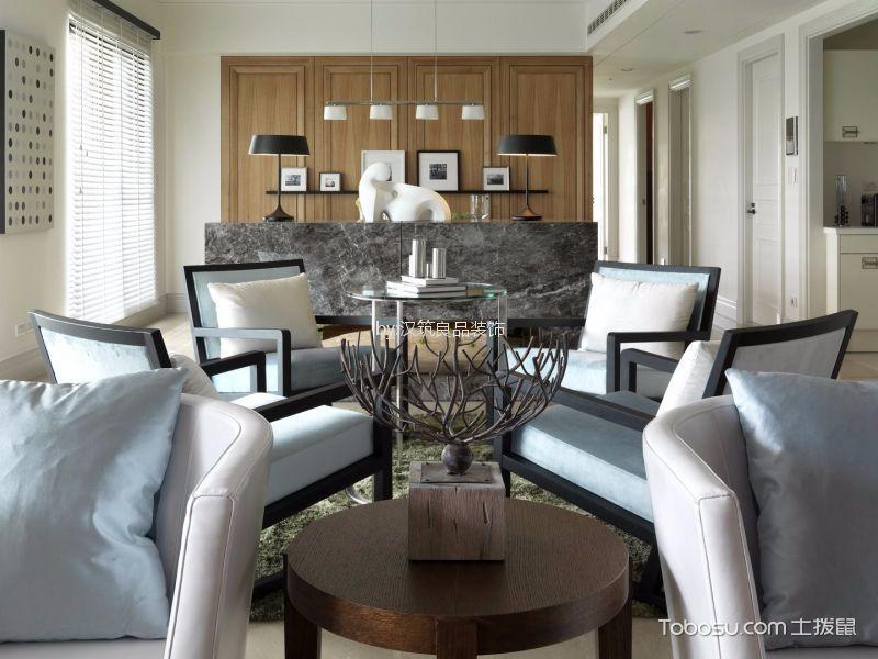客厅灰色细节简约风格装潢设计图片