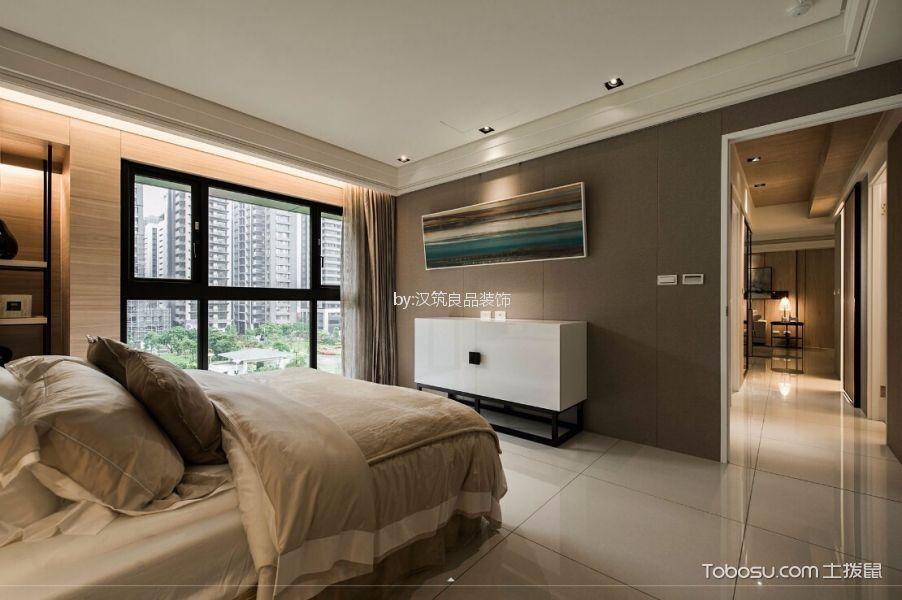 卧室白色地砖现代风格装修效果图