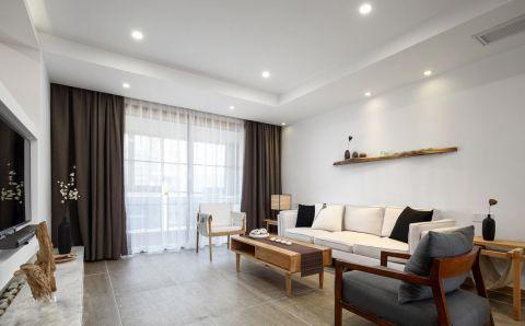 2019日式90平米效果图 2019日式二居室装修设计