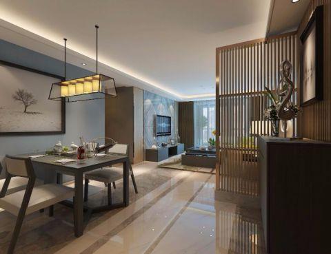 2020后现代110平米装修图片 2020后现代三居室装修设计图片