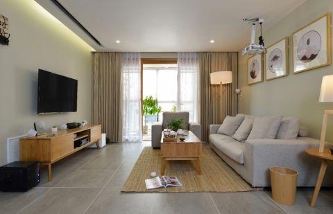 110平米宜家风格三居室装修效果图
