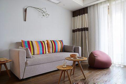 2020日式90平米效果图 2020日式二居室装修设计