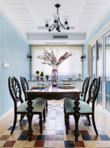 餐厅吊顶地中海风格装饰效果图