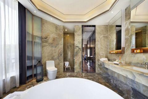 卫生间吊顶新中式风格装饰设计图片