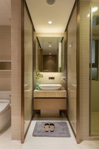 卫生间吊顶现代中式风格装修效果图