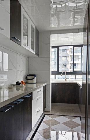 厨房走廊现代简约风格装饰效果图