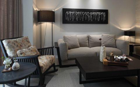 银河湾第一城现代三居室装修效果图