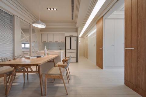 餐厅走廊北欧风格装潢图片