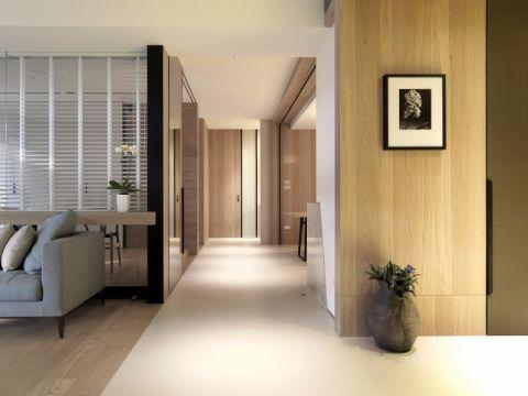 客厅走廊混搭风格装潢图片