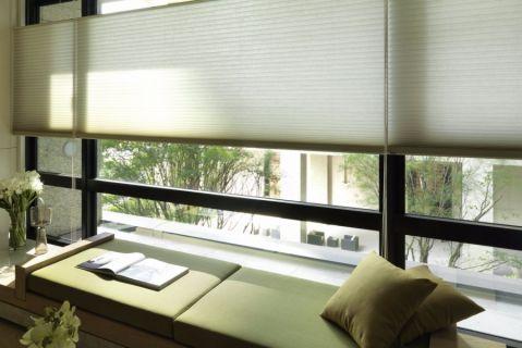 卧室飘窗混搭风格装修图片