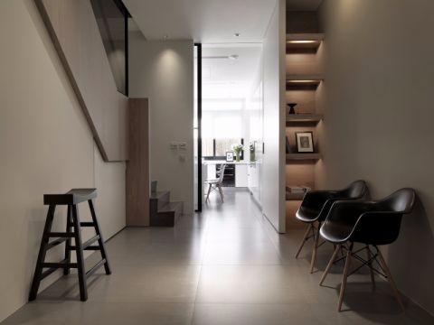 客厅走廊北欧风格效果图