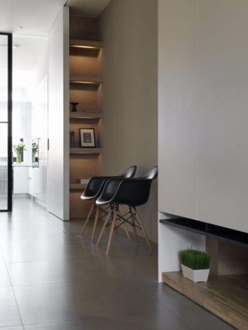 客厅博古架北欧风格装修效果图