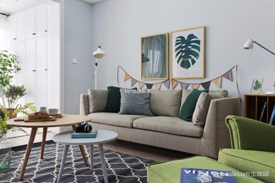 阳光城翡丽湾欧式风格三居室装修效果图
