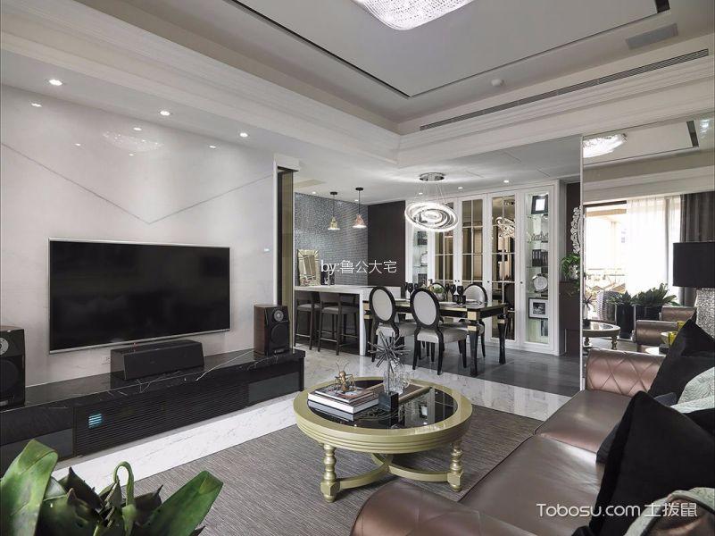 15万预算150平米四室两厅装修效果图