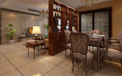 2020美式90平米效果图 2020美式二居室装修设计