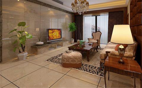 铂金汉宫152平古典风格三居室装修效果图
