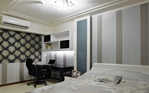 卧室背景墙现代风格装饰图片