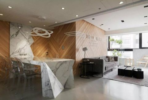 餐厅走廊现代风格装潢图片