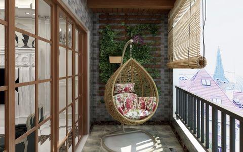 阳台欧式风格装潢图片