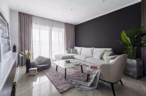 御龙天峰130平四室两厅简约风格装修效果图