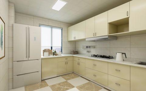 厨房窗台北欧风格装饰效果图