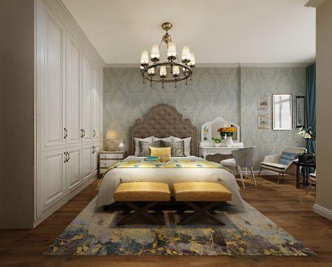 卧室衣柜简欧风格装饰设计图片