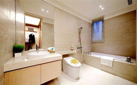 卫生间窗台简约风格装修设计图片