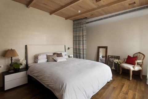 卧室吊顶简约风格效果图