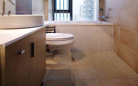 卫生间窗台现代简约风格效果图