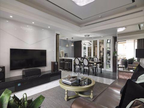 和安家园150平现代风格四居室装修效果图