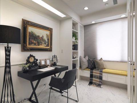 书房照片墙现代风格装潢设计图片
