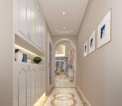 玄关走廊现代风格装潢效果图