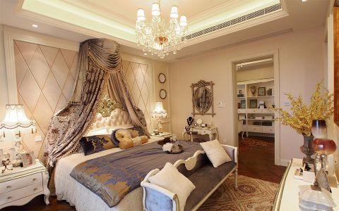 卧室隔断欧式风格装饰图片