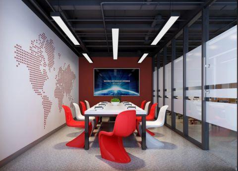 华凯广场写字楼办公室装修效果图