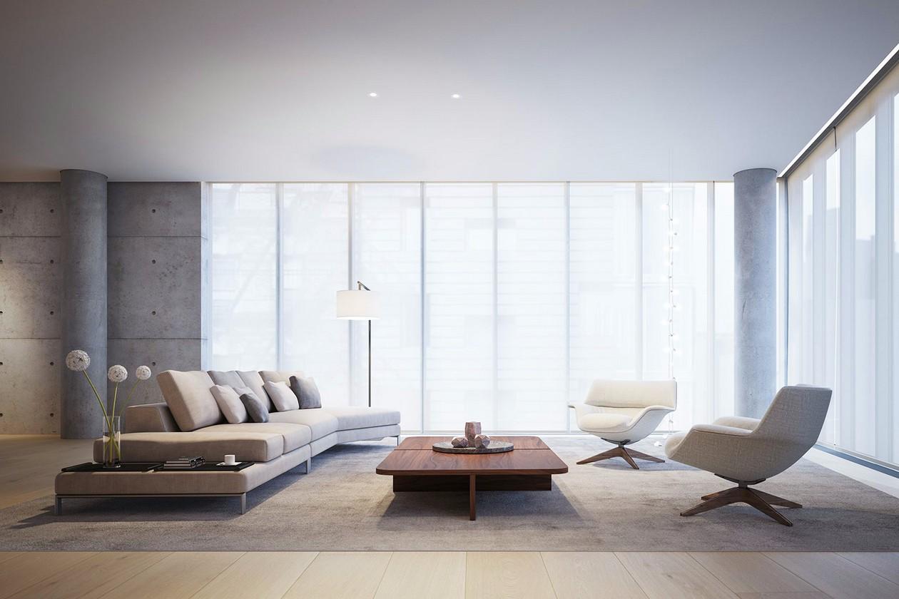 3室1卫2厅300平米现代简约风格