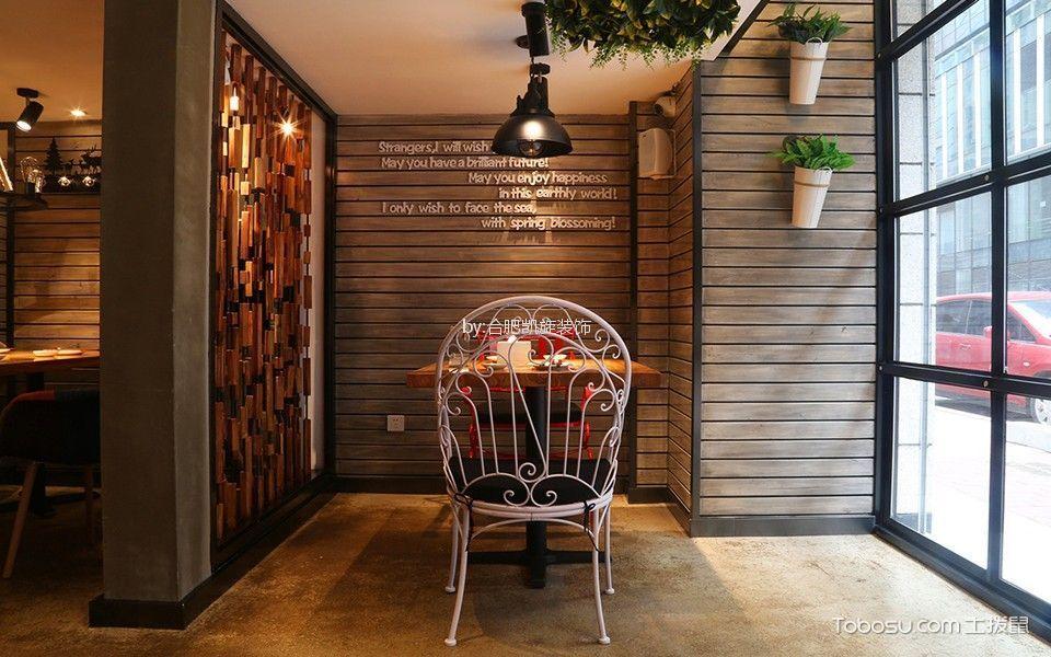 休闲主题餐馆背景墙装修图片