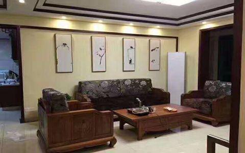 13万预算100平米三室两厅装修效果图